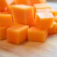 Тыква кубики