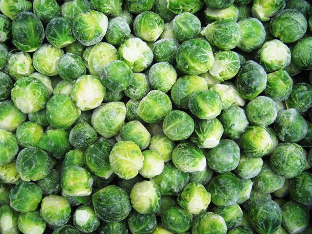 Замороженные брюссельская капуста оптом