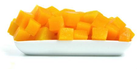 Замороженные кубики абрикоса оптом